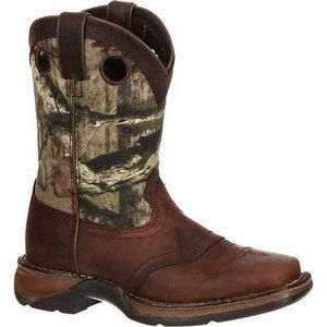 DURANGO Camo 8 in. Saddle Western Boot SZ 5
